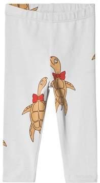 Mini Rodini Grey Turtle Leggings