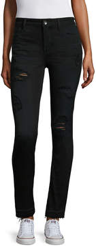 BELLE + SKY Destructed Skinny Pants