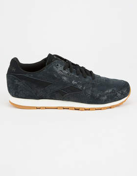 Reebok Classic Leather Clean Exotics Womens Shoes