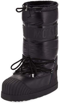 Moncler Venus Nylon Laced Moon Boot
