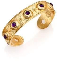 Stephanie Kantis Balance Light Amethyst Cuff Bracelet