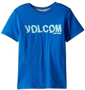 Volcom Warp Short Sleeve Tee Boy's T Shirt