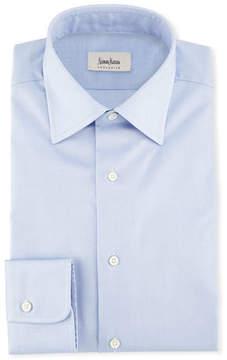 Neiman Marcus Solid Woven Dress Shirt