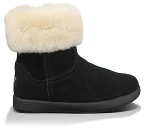 UGG Jorie II Genuine Sheepskin Lined Boot (Toddler)