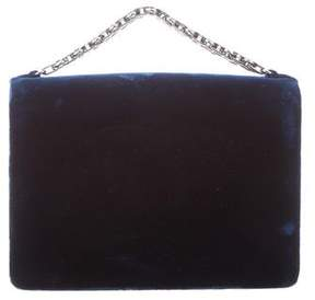 Chanel Velvet Bijoux Chain Evening Clutch