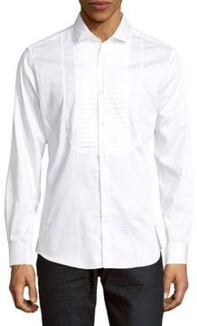 Pal Zileri Button Front Long Sleeve Sportshirt