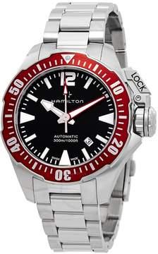Hamilton Khaki Navy Automatic Black Dial Men's Watch