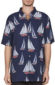 Barney Cools Yacht Club Regular Fit Button-Down Shirt