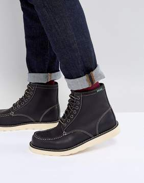 Eastland Lumber Up Leather Boots In Black