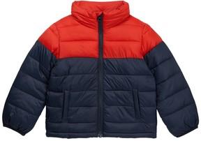 Joe Fresh Colorblock Puffy Coat (Toddler & Little Boys)