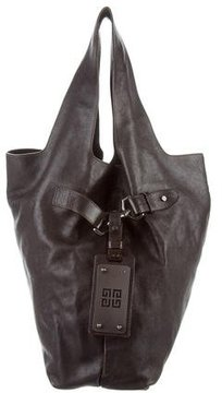 Givenchy Textured Leather Hobo