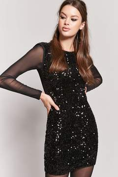 Forever 21 Sequin Mesh Dress