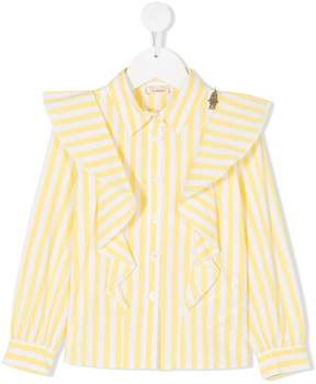 Elisabetta Franchi La Mia Bambina striped shirt