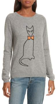 Chinti and Parker Women's Chinti & Parker Cat Cashmere Sweater