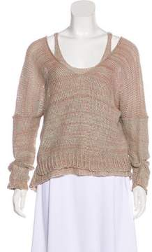 LAUREN MANOOGIAN Layered Knit Sweater
