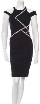 David Koma Embellished Off-The-Shoulder Dress