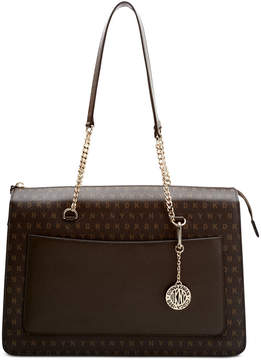 DKNY Bryant Top-Zip Signature Tote, Created for Macy's