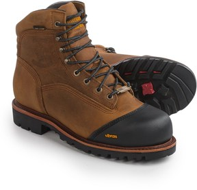 "Chippewa Apache 6"" Leather Work Boots - Composite Safety Toe, Waterproof, Insulated (For Men)"