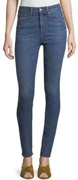 Brock Collection High-Rise Skinny-Leg Jeans