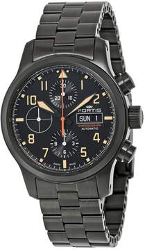 Fortis Aeromaster Stealth Chronograph Black Dial Men's Watch