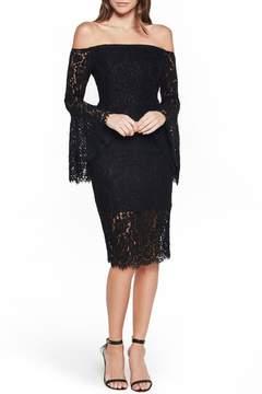 Bardot Solange Corded Lace Sheath Dress