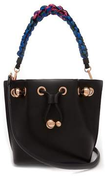 Sophia Webster Romy Mini Leather Bucket Bag - Womens - Black Multi