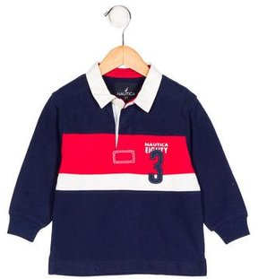 Nautica Boys' Long Sleeve Polo Shirt