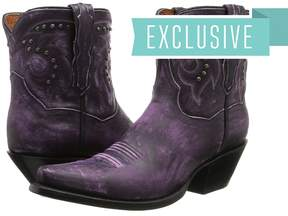 Dan Post Flat Iron Studs Cowboy Boots