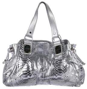 Michael Kors Metallic Python Drawstring Tote - ANIMAL PRINT - STYLE