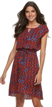 Apt. 9 Women's Smocked Blouson Dress