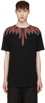 Marcelo Burlon County of Milan Black Teodoro T-Shirt