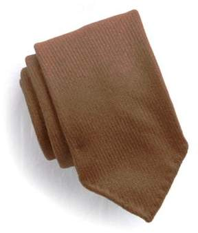 Drakes Drake's Solid Wool Handrolled Tie