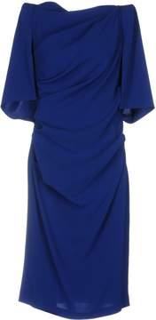 Talbot Runhof Knee-length dresses