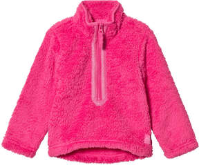 Joules Pink Fleece Half Zip Fleece