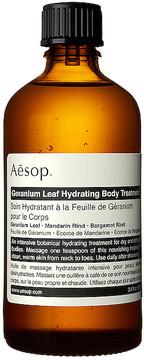 Aesop Geranium Leaf Hydrating Body Treatment.