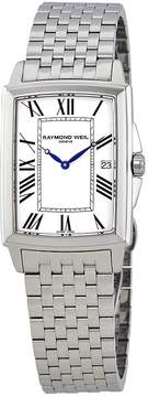 Raymond Weil Tradition White Dial Men's Stainless Steel Watch