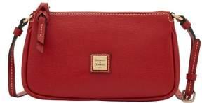 Dooney & Bourke Saffiano Lexi Crossbody Shoulder Bag - BURNT ORANGE - STYLE