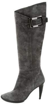 Roger Vivier Knee-High Buckle Boots