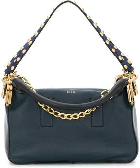 Sacai studded handle tote