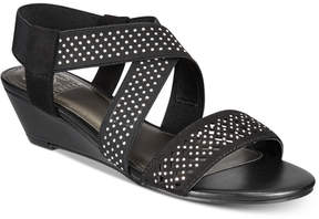 Impo Gritha Stretch Wedge Sandals Women's Shoes
