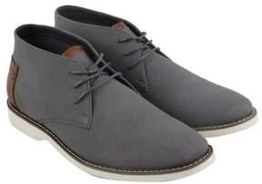 Steve Madden M-Ekhart Grey Nubuck Mens Casual Dress Chukka Boots