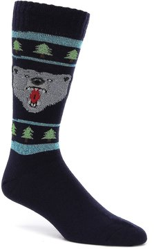 Hot Sox Bear Crew Socks
