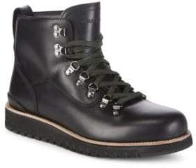 Cole Haan Leather Hiker Ankle Boots