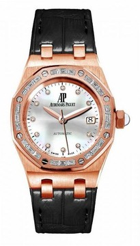 Audemars Piguet Royal Oak Mother of Pearl Diamond Ladies Watch