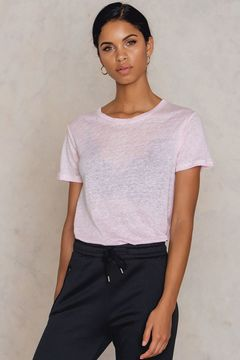 Filippa K Swing Short Sleeve Linen Tee