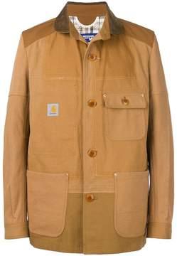 Junya Watanabe buttoned shirt jacket