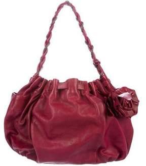 Botkier Leather Rose Hobo