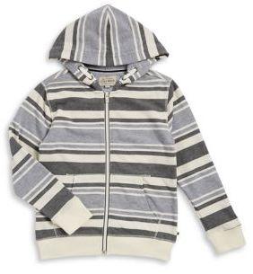 Lucky Brand Boy's Stripe Zip Hoodie
