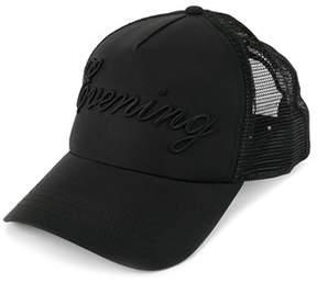 DSQUARED2 Men's Black Cotton Hat.
