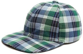 Thom Browne Six-panel check cotton cap